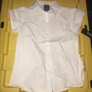 George girls uniform shirt size 7/8